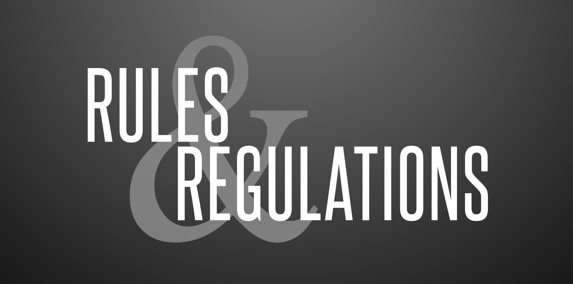 Rules & Regulations - ISF Informatica
